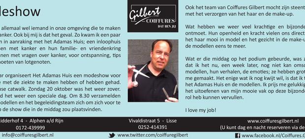 Column Witte Weekblad: Modeshow