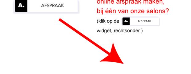 Nieuw online afsprakensysteem